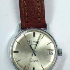 Relojes de pulsera: RELOJ HERMO, SWISS. 2,8 CM DE DIÁMETRO DE ESFERA, . NO ESTÁ EN FUNCIONAMIENTO. Lote 38168469