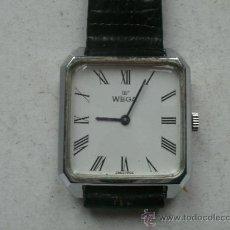 Relojes de pulsera: RELOJ MECANICO MARCA WEGA SWISS. Lote 38417497