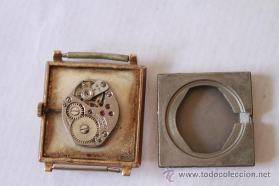 Relojes de pulsera: RELOJ PULSERA SUIZO MARCA CAMY 17 RUBIS SPUTNY NO FUNCIONA - Foto 4 - 38458825