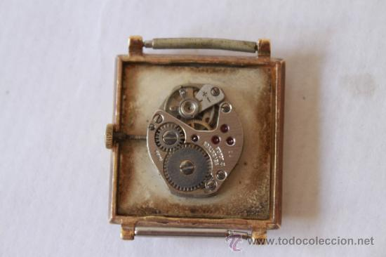 Relojes de pulsera: RELOJ PULSERA SUIZO MARCA CAMY 17 RUBIS SPUTNY NO FUNCIONA - Foto 3 - 38458825