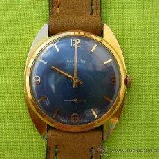 Relojes de pulsera: THERMIDOR CUERDA CHAPADO CABALLERO.. Lote 38976306