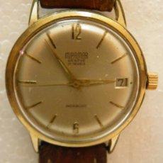 Relojes de pulsera: RELOJ DE PULSERA MIRAMAR GENEVE 21 JEWELS INCABLOC,AÑOS 50 O 60. Lote 262422670