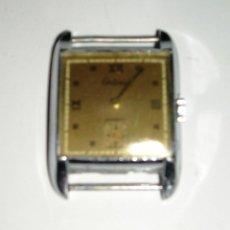 Relojes de pulsera: RELOJ CERTINA CUADRADO, AÑOS 40, FUNCIONANDO. Lote 39338839