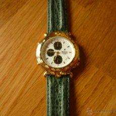 Relojes de pulsera: PRECIOSO RELOJ DE HOMBRE MX-ONDA VINTAGE CON ALARMA Y CRONO NUEVO CON ETIQUETA . Lote 39433745