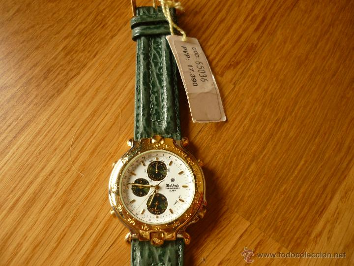 Relojes de pulsera: PRECIOSO RELOJ DE HOMBRE MX-ONDA VINTAGE CON ALARMA Y CRONO NUEVO CON ETIQUETA - Foto 3 - 39433745
