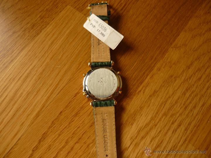 Relojes de pulsera: PRECIOSO RELOJ DE HOMBRE MX-ONDA VINTAGE CON ALARMA Y CRONO NUEVO CON ETIQUETA - Foto 4 - 39433745