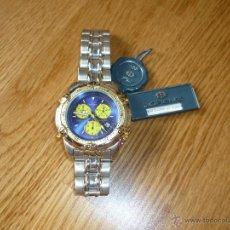 Relojes de pulsera: RELOJ ALEMAN LORENZ MODELO CHRONOGRAPH ACERO Y ORO ? VINTAGE . Lote 39433923