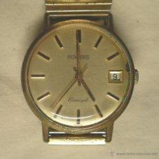 Relojes de pulsera: RELOJ CABALLERO DUWARD TRIUMPH, CALENDARIO, FUNCIONA. MED. 33 MM SIN CONTAR CORONA. Lote 39705421
