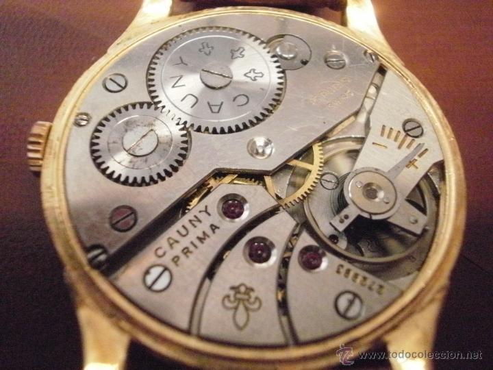 Relojes de pulsera: PRECIOSO RELOJ CAUNY PRIMA (ESFERA GRANDE texturada) - Foto 4 - 36813369