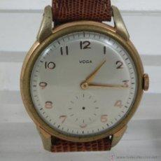 Relojes de pulsera: RELOJ CLASICO MECANICO MARCA VOGA. Lote 39926148