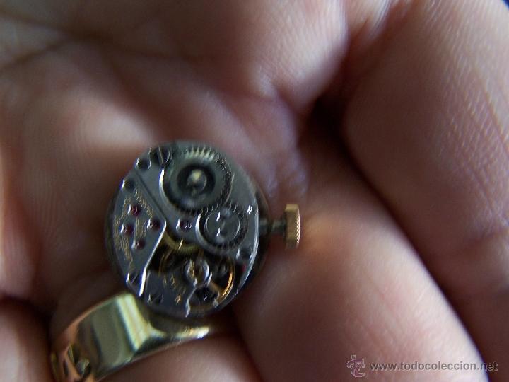 Relojes de pulsera: Maquinaria reloj Longines, completa y funcionando - Foto 3 - 40704396