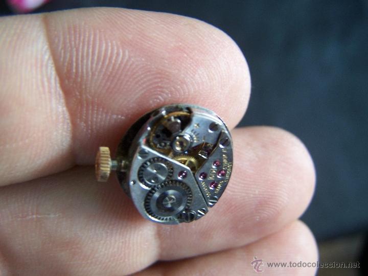 Relojes de pulsera: Maquinaria reloj Longines, completa y funcionando - Foto 4 - 40704396