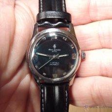Relojes de pulsera: VIEJO RELOJ VINTAGE DE CABALLERO A CUERDA HENRI SANDOZ & FILS (MADE IN SWISS). Lote 41255444