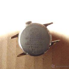 Relojes de pulsera: RELOJ DE SEÑORA O CADETE A CUERDA CAUNY PRIMA PLAQUE OR G 10 MICRONS(MADE SWISS). Lote 41255728