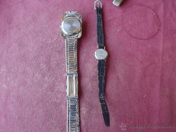 Relojes de pulsera: DOS RELOJES DE CUERDA - Foto 3 - 41272136