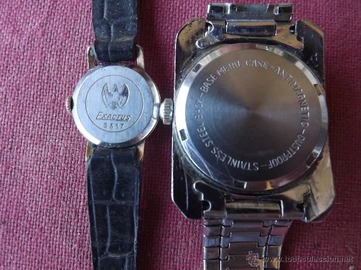 Relojes de pulsera: DOS RELOJES DE CUERDA - Foto 4 - 41272136