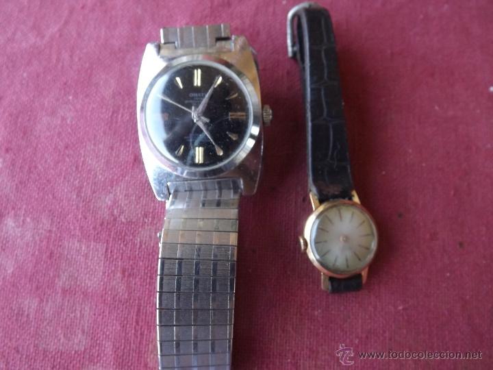 Relojes de pulsera: DOS RELOJES DE CUERDA - Foto 5 - 41272136