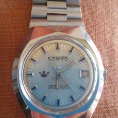 Relojes de pulsera: RELOJ SONIKO. Lote 41460882