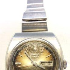 Relojes de pulsera: RELOJ SEIKO AUTOMATIC, 17 JEWELS. WATER RESISTANT. MADE IN JAPAN. NO FUNCIONA.. Lote 41567143