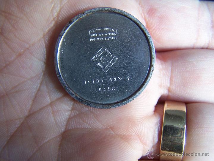 ANTIGUO RELOJ DE PULSERA DE CARGA MANUAL Y DE CABALLERO CYMA SYNCRHON 35 (Relojes - Pulsera Carga Manual)