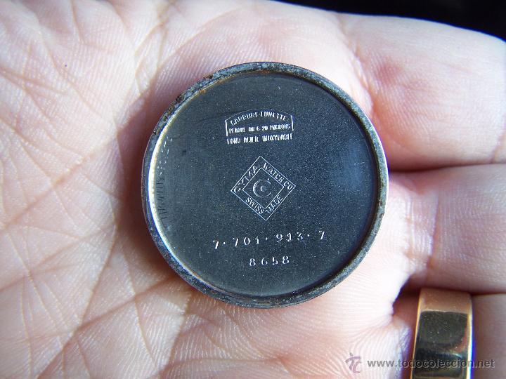 Relojes de pulsera: Antiguo reloj de pulsera de carga manual y de caballero Cyma Syncrhon 35 - Foto 2 - 41764012