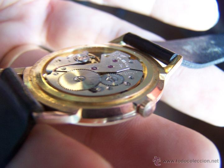Relojes de pulsera: Antiguo reloj de pulsera de carga manual y de caballero Cyma Syncrhon 35 - Foto 4 - 41764012
