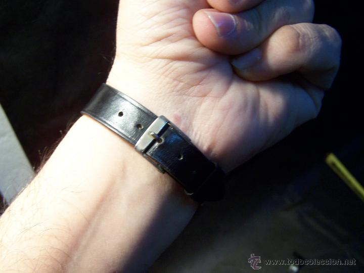 Relojes de pulsera: Antiguo reloj de pulsera de carga manual y de caballero Cyma Syncrhon 35 - Foto 8 - 41764012