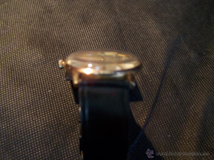 Relojes de pulsera: Antiguo reloj de pulsera de carga manual y de caballero Cyma Syncrhon 35 - Foto 11 - 41764012