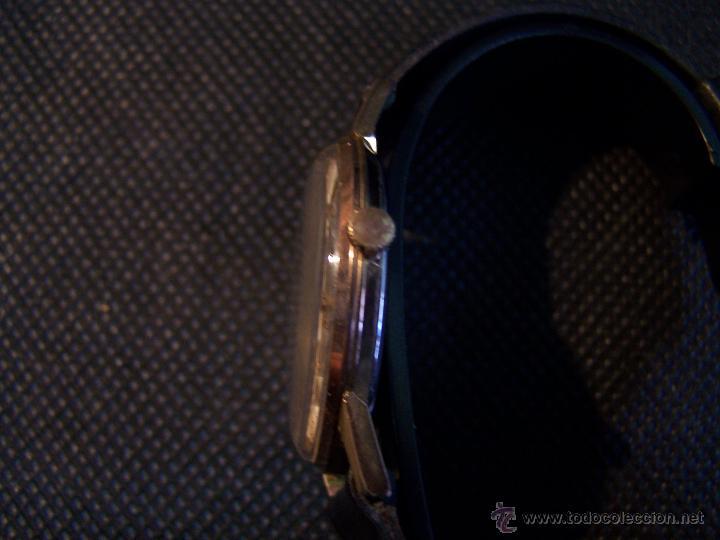 Relojes de pulsera: Antiguo reloj de pulsera de carga manual y de caballero Cyma Syncrhon 35 - Foto 12 - 41764012