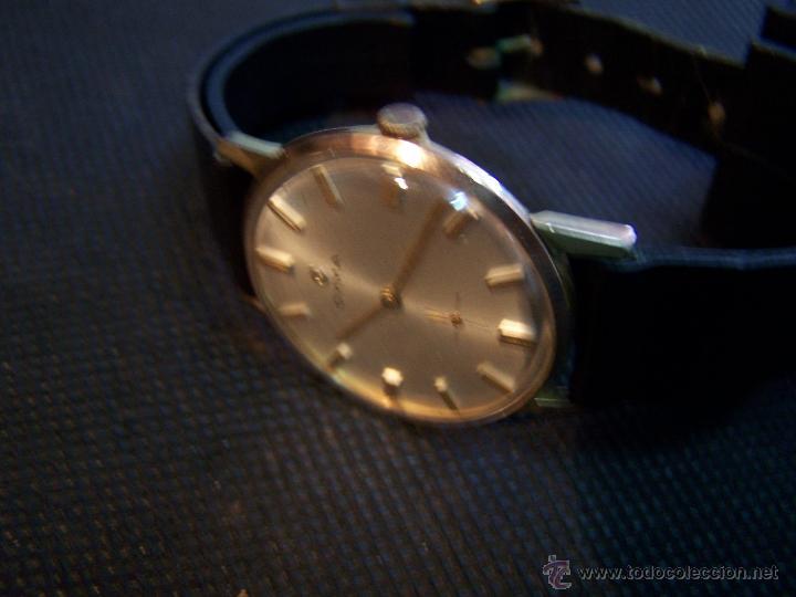 Relojes de pulsera: Antiguo reloj de pulsera de carga manual y de caballero Cyma Syncrhon 35 - Foto 14 - 41764012