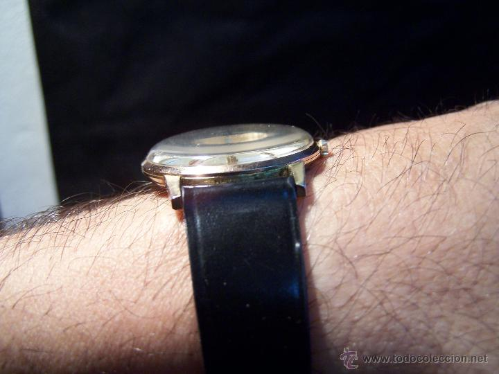 Relojes de pulsera: Antiguo reloj de pulsera de carga manual y de caballero Cyma Syncrhon 35 - Foto 16 - 41764012