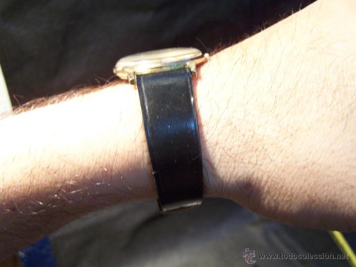 Relojes de pulsera: Antiguo reloj de pulsera de carga manual y de caballero Cyma Syncrhon 35 - Foto 17 - 41764012