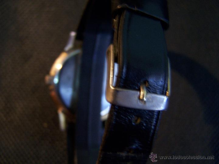 Relojes de pulsera: Antiguo reloj de pulsera de carga manual y de caballero Cyma Syncrhon 35 - Foto 18 - 41764012