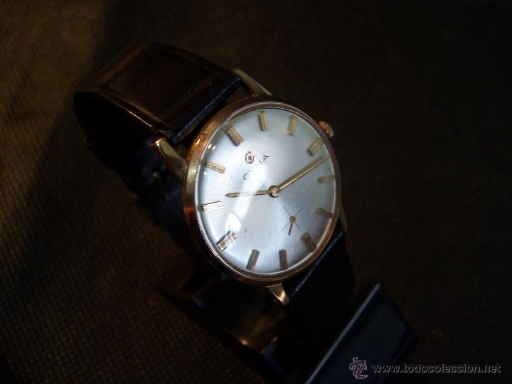 Relojes de pulsera: Antiguo reloj de pulsera de carga manual y de caballero Cyma Syncrhon 35 - Foto 20 - 41764012