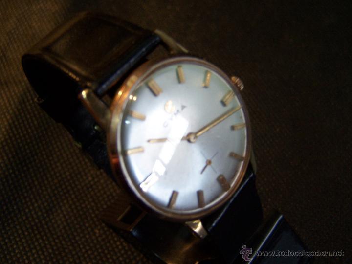 Relojes de pulsera: Antiguo reloj de pulsera de carga manual y de caballero Cyma Syncrhon 35 - Foto 21 - 41764012