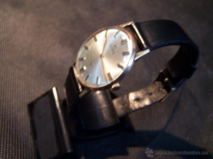Relojes de pulsera: Antiguo reloj de pulsera de carga manual y de caballero Cyma Syncrhon 35 - Foto 22 - 41764012