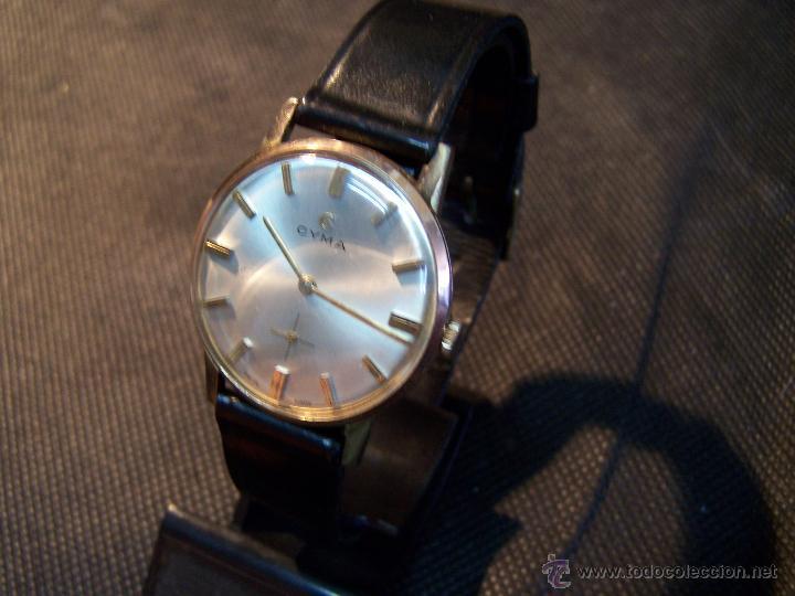 Relojes de pulsera: Antiguo reloj de pulsera de carga manual y de caballero Cyma Syncrhon 35 - Foto 24 - 41764012