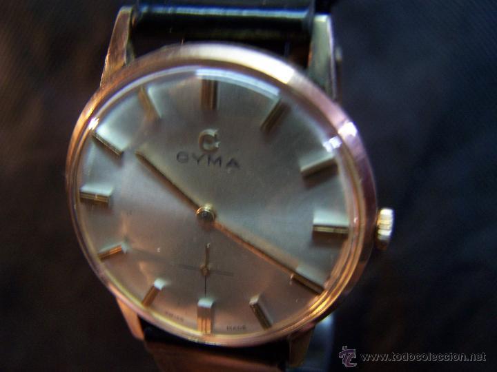 Relojes de pulsera: Antiguo reloj de pulsera de carga manual y de caballero Cyma Syncrhon 35 - Foto 40 - 41764012