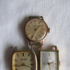Relojes de pulsera: 3 RELOJES SEÑORA DUWARD. Lote 41819086