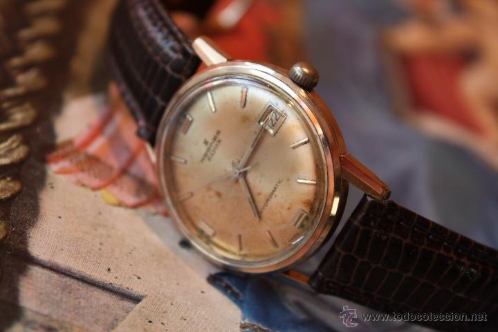 Reloj vintage antiguo edox carga manual - Vendido en