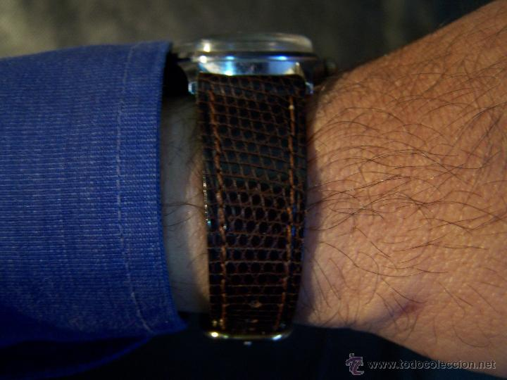 Relojes de pulsera: Antiguo reloj de pulsera de carga manual, ANKER - Foto 2 - 42036842