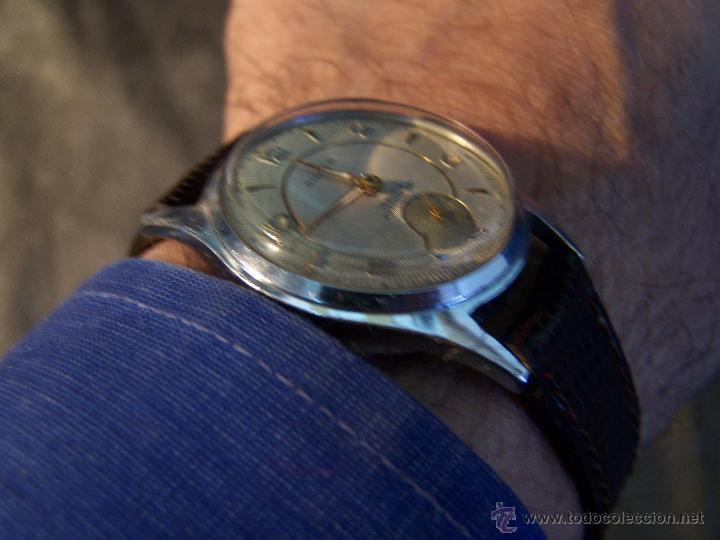 Relojes de pulsera: Antiguo reloj de pulsera de carga manual, ANKER - Foto 4 - 42036842