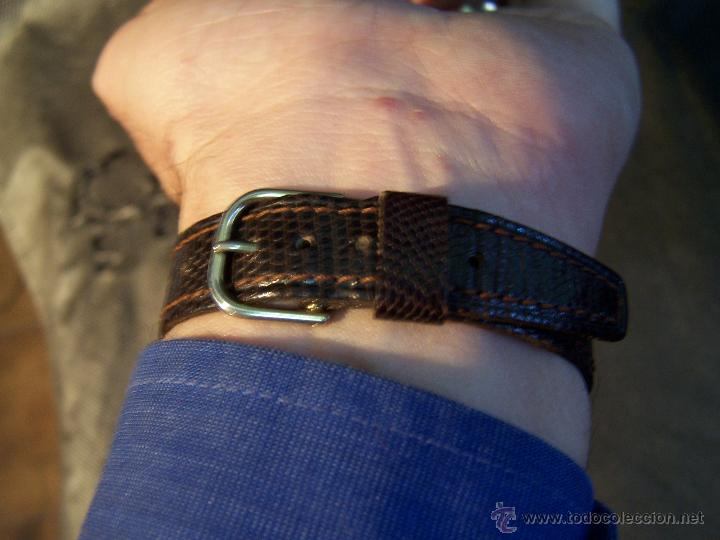 Relojes de pulsera: Antiguo reloj de pulsera de carga manual, ANKER - Foto 5 - 42036842