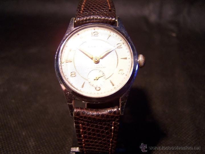 Relojes de pulsera: Antiguo reloj de pulsera de carga manual, ANKER - Foto 7 - 42036842