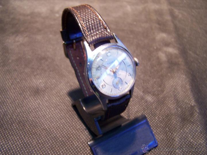 Relojes de pulsera: Antiguo reloj de pulsera de carga manual, ANKER - Foto 11 - 42036842
