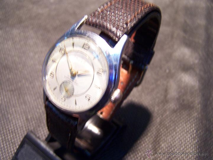 Relojes de pulsera: Antiguo reloj de pulsera de carga manual, ANKER - Foto 13 - 42036842