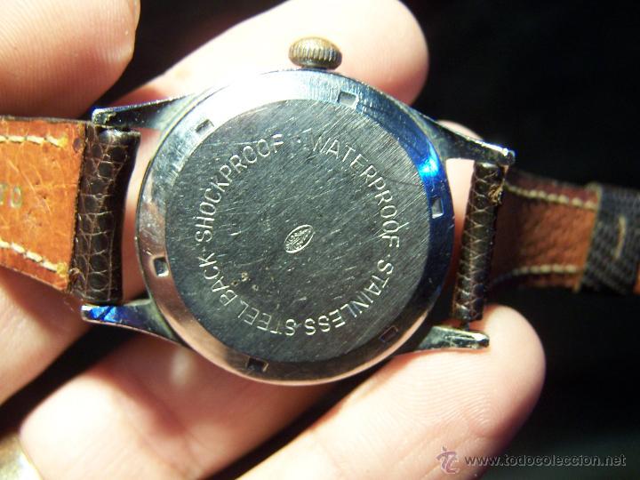 Relojes de pulsera: Antiguo reloj de pulsera de carga manual, ANKER - Foto 20 - 42036842