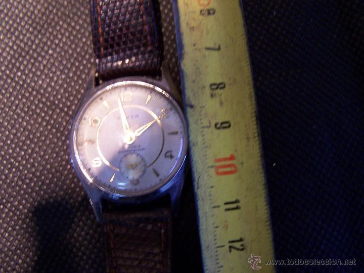 Relojes de pulsera: Antiguo reloj de pulsera de carga manual, ANKER - Foto 23 - 42036842