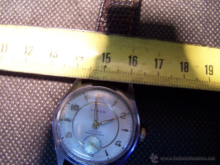 Relojes de pulsera: Antiguo reloj de pulsera de carga manual, ANKER - Foto 24 - 42036842