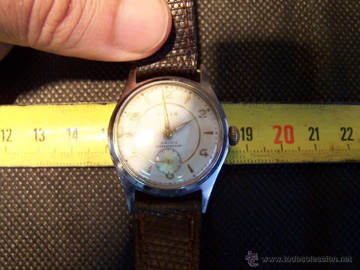 Relojes de pulsera: Antiguo reloj de pulsera de carga manual, ANKER - Foto 26 - 42036842